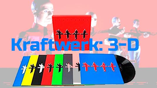 Kraftwerk: 3-D (The Catalogue) (180g) Vinyl 8LP Boxset
